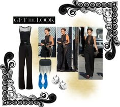 """""""Get The Look: Nicole Richie in Emilio Pucci"""" by katuskas ❤ liked on Polyvore"""