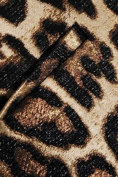 REDValentino - Leopard-jacquard Shorts - Leopard print - IT36