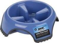 Skid Stop Slow Feed Dog Food Bowl stops your pet from eating too quickly, no slip bottom affiliate link