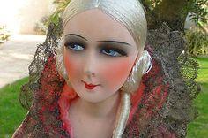 Antique French Boudoir Doll Paris