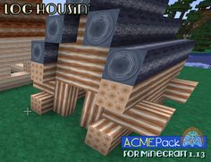 A clear design win is stripped logs. a natural inclusion for a block building game like Minecraft. I say strip out Adventure Mode while they're adding so much else to it. Building Games, Jenga, Logs, Minecraft, Packing, Adventure, Natural, Design, Bag Packaging