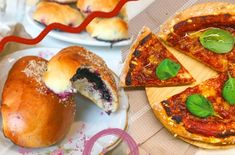 Genialne jaglane ciasto z solonym karmelem i orzechami • Anna Sudoł Muesli, Vegetable Pizza, Anna, Vegetables, Food, Granola, Essen, Vegetable Recipes, Meals