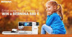 BERNINA Just Win It: Share and Win All Year Long