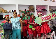 Ayer los DUENDES estuvieron en el Almacén Ecocueros Colombia y escogieron a la Señora Luz Dary Andrade !  Felicitaciones !!!  Con los DUENDES que lo PAGAN TODO, tus compras de NAVIDAD en ALAMEDAS pueden ser GRATIS !   Una Navidad diferente solo aquí en ALAMEDAS CENTRO COMERCIAL.  El próximo puedes ser TÚ! te esperamos !!!