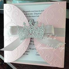 INVITACIONES DE 15 AÑOS Quince Invitations, Ballerina Party, Wedding Nails, Quinceanera, Sweet 16, Invitation Cards, Handmade Items, Card Making, Lily