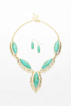 Tristen Necklace in Turquoise