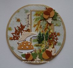 Mijn Kaarten Hobby: Herfst, herfst, wat heb je te koop?