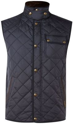 La Vogue Men Sleeveless Camouflage Zip up Hooded Quilted Jacket Vest Blue