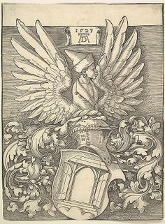 Coat of Arms of Albrecht Dürer (by Albrecht Dürer)  (Germany, Nuremberg 1471–1528)