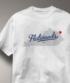 225591997 Cool Flatwoods Kentucky KY Shirt from Greatcitees.com Fairfax County