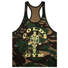 Men gym tank top camouflage #sleeveless #shirt #bodybuilding athletic fitness ves,  View more on the LINK: 	http://www.zeppy.io/product/gb/2/121778961051/