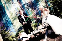 True love from a galaxy far far away. fiancé would love this Wedding Photoshoot, Wedding Shoot, Wedding Blog, Wedding Engagement, Our Wedding, Dream Wedding, Wedding Dreams, Wedding Stuff, Disney Engagement Pictures