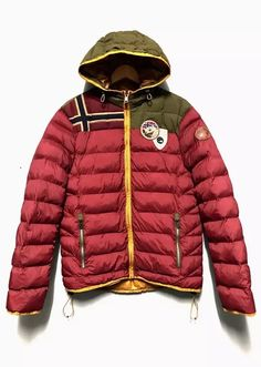 1b06a4003 Napapijri A/W16 ANTARCTIC RESEARCH PROGRAM PUFFER Size US L / EU 52-54