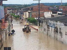 #LEIAMAIS  WWW.OBSERVADORINDEPENDENTE.COM Santo Amaro da Purificação: Prefeitura decreta estado de emergência após enchente do Rio Subaé