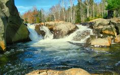 These 10 Waterfall Swimming Holes In Maine Are Perfect For A Summer Day  Grab your suit and jump right into these waterfall swimming holes!