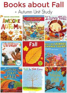 Children's Books About Fall, Plus Autumn Unit Study Resources | The Jenny Evolution