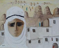 FİKRET OTYAM - Harran Evi, 90 x 75