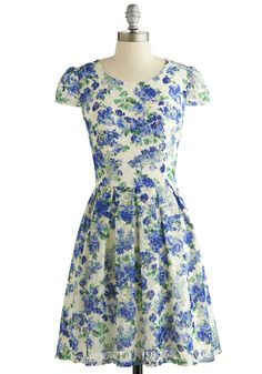 Sky Vine Dress, #ModCloth