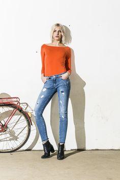 Skinny jeans 150:-