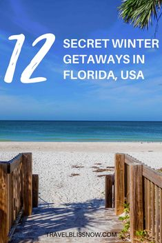 12 Secret Winter Getaways in Florida - Travel Bliss Now Florida Vacation Spots, Places In Florida, Florida Travel, Florida Beaches, Vacation Places In Usa, Greece Vacation, Pumpkin Recipes, Fall Recipes, Florida Usa