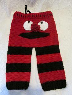 Elmo Monster Butt Pants
