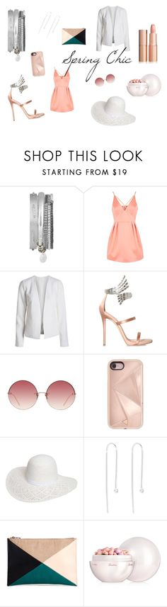 """Boho Betty // Spring Chic"" by bohobettyjewellery on Polyvore featuring Topshop, Giuseppe Zanotti, Linda Farrow, Rebecca Minkoff, Dorothy Perkins, Sole Society and Guerlain"