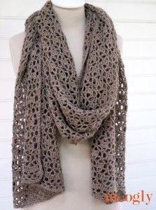 Crochet Alpaca Your Wrap  