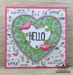 Fairy Stamp Land: Elizabeth Craft Designs January Die Challenge
