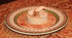 Sharkaseya (Egyptian walnut garlic sauce, cooked with chicken or veal, and served with white rice...can also be used as a dip for pita bread fries/chips)