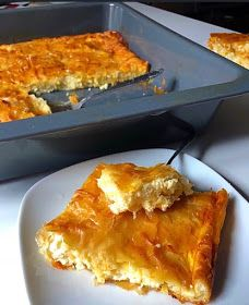 Greek Cheese Pie, Cheese Pies, Spanakopita, Greek Recipes, Lasagna, French Toast, Food And Drink, Cooking Recipes, Breakfast