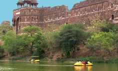 The majestic Purana Qila (Old Fort), #Delhi