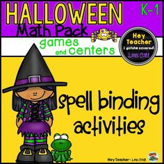 This Halloween Math Pack includes math games/activities that are perfect for math stations or centers. Your students will have fun learning as they play these spooktacular games!