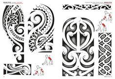 Tribal Maorí Y Polinesios - Tattoo Flash Dibujos - Tattoo Polynesian Tribal Tattoos, Cool Tribal Tattoos, Maori Tattoo Arm, Samoan Tattoo, Hawaiian Tribal, Hawaiian Tattoo, Doodles Zentangles, Luna Tribal, Maori Symbols