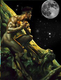 satyr Erotic fantasy nude