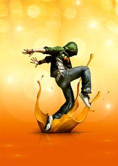 Design Just Dance avec Photoshop