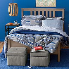 Older Boys Room - Rugby Comforter from Company Kids