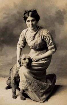 c. 1900 Airedale terrier