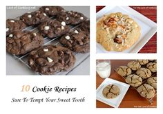 10 Cookie Recipes Sure To Tempt Your Sweet Tooth