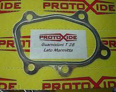 Guarnizione Gt25-Gt28 per downpipe Turbo lato marmitta  al prezzo di 19,32 € Euro.  Guarnizione metallica per turbocompressore lato marmitta GT25-GT28.