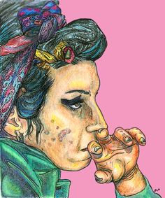 Amy Winehouse by ~The-Crayon-Guru on deviantART