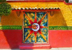 Painted Door, Ajijic Mexico