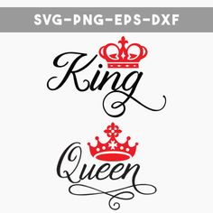 SVG-kingandqueen-prev Bug Tattoo, Tattoo Outline, King Queen Tattoo, Bubble Drawing, King And Queen Crowns, Word Drawings, Boss Bitch Quotes, Queen Drawing, Tattoo Flash Sheet