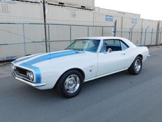1967 Chevrolet Camaro Coupe Maintenance/restoration of old/vintage vehicles: the material for new cogs/casters/gears/pads could be cast polyamide which I (Cast polyamide) can produce. My contact: tatjana.alic@windowslive.com