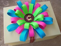 How To Make a Loopy Paper Flower / Bow