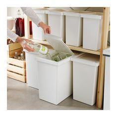 FILUR Bin with lid - 28 l - IKEA