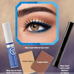 ✨Mary Kay @ Play Blue My Mind✨ New In Box! Never Used! Such a bold eye catching color! No trades! Price is Firm unless you bundle  Mary Kay Makeup Eyeliner