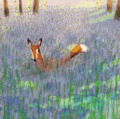 "Briony May Smith, ""Hiding in the Bluebells"""