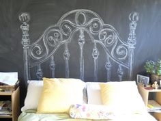 Definitely going to paint one of my walls like this!