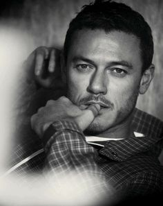 Luke Evans - GQ Style Germany. That stare leaves me weak in the knees.