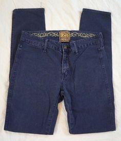 Rich & Skinny Leggy Skinny Leg Dark Wash Womens Jeans Size 27 (P29#372) #RichSkinny #Leggings